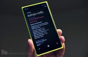 Emergen capturas de pantalla de Windows Phone 8 GDR3 y Nokia Bittersweet Shimmer