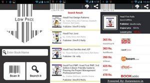Encuentre el precio en línea más bajo de un libro en la India utilizando la aplicación de Android 'LowPrice'