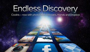 Endless Discovery: la nueva versión de Cooliris, viene con soporte para Dropbox