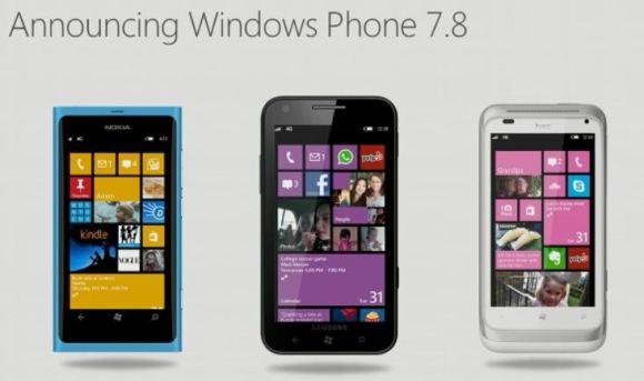 Windows Phone 7.8 se mantendría a un lado para los dispositivos WP de rango medio-bajo
