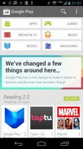 Es posible que Google Play Store pronto tenga un aspecto renovado
