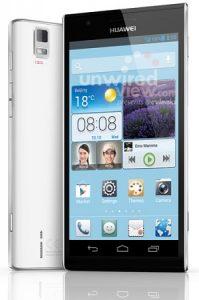 Es posible que el Huawei Ascend P2 no tenga una resolución de 1080p;  720p en su lugar