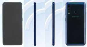 Especificaciones del Samsung Galaxy A60 reveladas a través de la lista de TENAA
