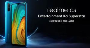 Especificaciones y variantes clave de Realme C3 reveladas