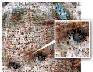 Esta aplicación convertirá tus 3.60.000 fotos en un enorme mosaico