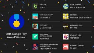 Estos son los ganadores de los primeros premios de Google Play para aplicaciones y juegos