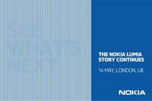 Evento de Nokia del 14 de mayo para delinear el futuro de la serie Nokia Lumia