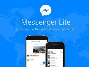 Facebook Messenger Lite lanzado en India