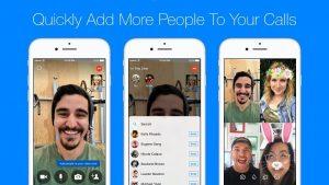 Facebook Messenger hace que sea más fácil convertir una llamada de voz o video individual en una llamada grupal