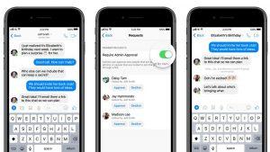 Facebook Messenger obtiene controles de administrador y enlaces que se pueden unir para chats grupales