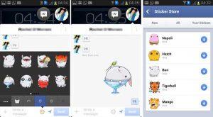 Facebook Messenger obtiene una nueva función de pegatinas