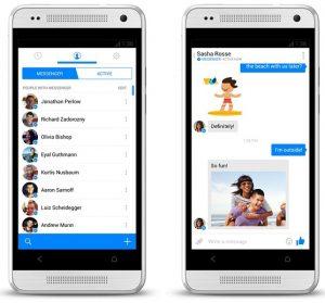 Facebook Messenger para Android e iOS actualizado con nuevas funciones