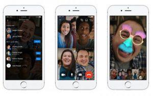 Facebook Messenger recibe soporte para videollamadas grupales