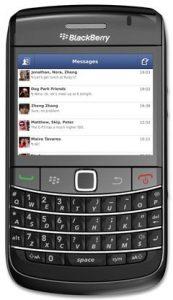 Facebook Messenger recibe una actualización, ahora disponible para BlackBerry