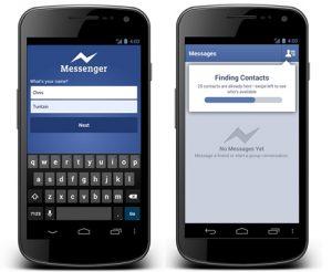 Facebook actualiza Messenger para Android, regístrese solo con el nombre y el número de teléfono