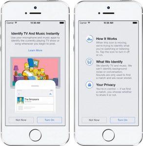 Facebook agrega reconocimiento de audio a aplicaciones móviles;  Puede identificar canciones, programas de televisión y películas.