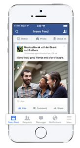 Facebook anunció el rediseño de la aplicación para iOS 7
