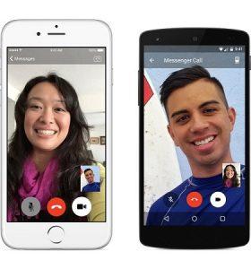 Facebook lanza la función de videollamadas para la aplicación Messenger