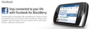 Facebook para Blackberry se actualiza (v2.0)