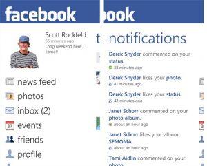 Facebook para Windows Phone se actualiza a la versión 2.3