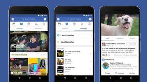 Facebook presenta Watch, su servicio de video para competir en YouTube