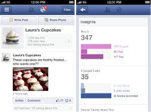 Facebook presenta la aplicación Pages Manager para iOS