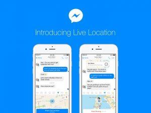 Facebook presenta la función de compartir ubicación en vivo para Messenger