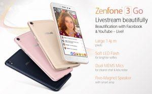 Filtradas imágenes y especificaciones de ASUS ZenFone 3 Go