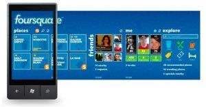 Foursquare ahora disponible en Windows Phone Mango