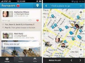 Foursquare para Android e iOS actualizado con interfaz de usuario renovada y más