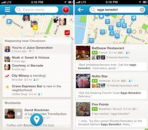 Foursquare para iOS se actualiza a la versión 6.0