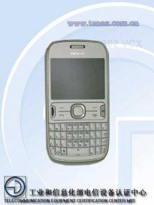 Fugas de Nokia 302 (RM-813), nos recuerda al C3 y E6
