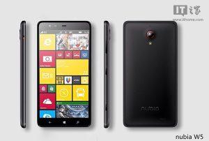 Fugas de ZTE Nubia W5 con Windows Phone 8.1 y Snapdragon 801