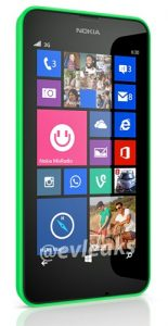 Fugas de imagen de prensa del Nokia Lumia 630