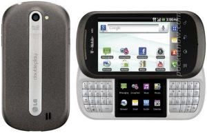 Fugas de la red LG Doubleplay para T-Mobile en una imagen de prensa