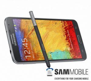 Samsung Galaxy Note 3 Neo se filtra en los renders de prensa