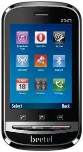 GD 470, el primer teléfono con pantalla táctil de Beetel