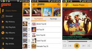 Gaana lanza la versión 2.0 y Gaana + premium para iPhone