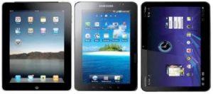 Galaxy Tab de Samsung: el tamaño marcará la diferencia