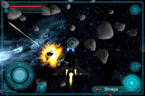 Galaxy on Fire: juegos en el N8