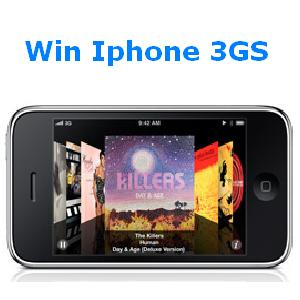 Gana un Iphone 3GS