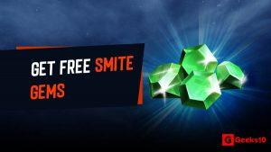 Cómo obtener gemas Smite gratis 2021 (100% métodos de trabajo)
