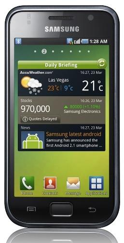Gingerbread 2.3.4 próximamente en Samsung Galaxy S