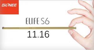 Gionee Elife S6 se dará a conocer el próximo mes