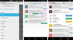 Gmail para Android tiene un nuevo diseño