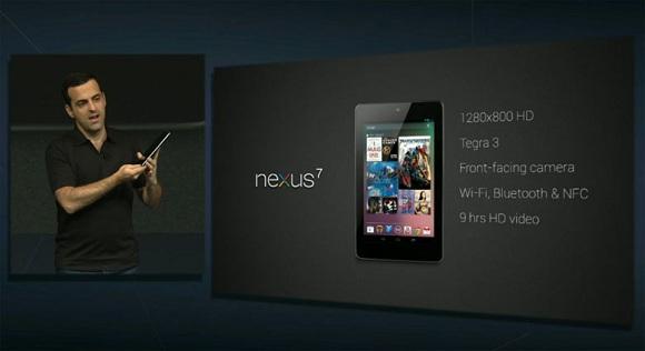 Google I / O: Asus Nexus 7 Tablet anunciada oficialmente, con un precio de $ 199