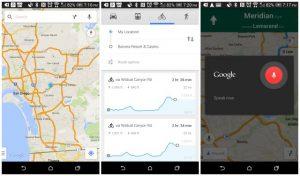 Google Maps para Android actualizado con información de elevación en bicicleta, controles de voz y más