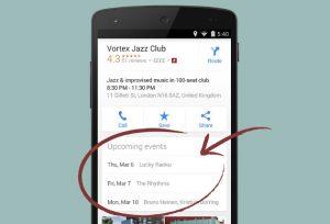 Google Maps para Android ahora te muestra los próximos eventos