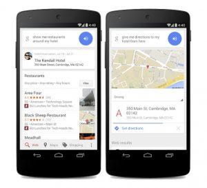 Google Now actualizado para mostrar detalles de reserva de hotel y más