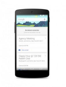 Google Now obtiene soporte sin conexión en la última actualización